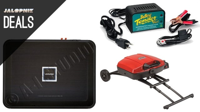 Upgrade Your Car Stereo, Tend Your Battery, Tailgate in Style [Deals]