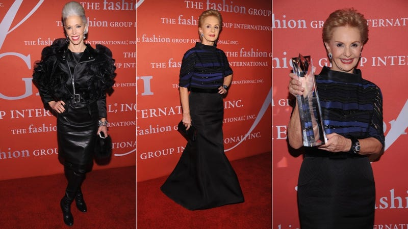 Glam Gowns and Lurking Lagerfeld at the Fashion Group International Night Of Stars
