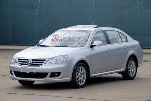 Volkswagen Lavida Unofficially Revealed For Chinese Market