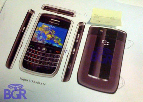 BlackBerry Niagara Full Specs Leaked (Has 3G After All)