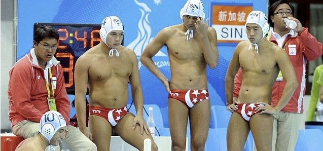 And Now A Cavalcade Of Dick Puns Related To A Singapore Water Polo Team's Swimsuits