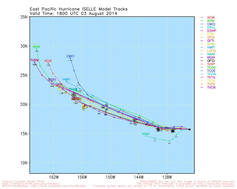 Hurricane Iselle Might Impact Hawaii as a Tropical Storm This Week
