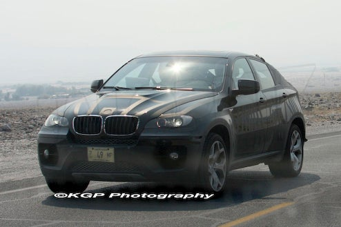 Big-Assed 2010 BMW X6 ActiveHybrid Spotted In Death Valley, No Spotted Owls In Sight