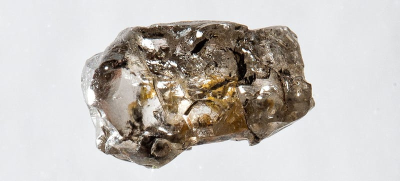 Rare diamond reveals existence of water deep inside Earth's mantle