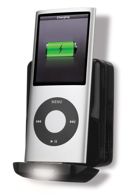 Scosche reviveLITE II Charges iPods, Lights Nights