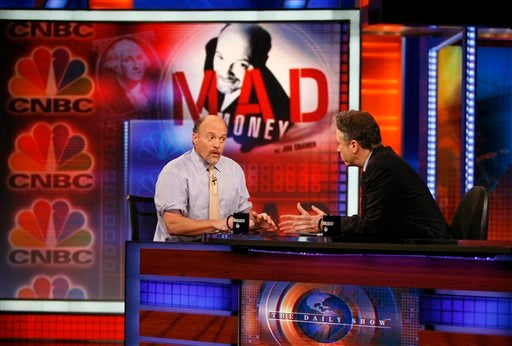 Jon Stewart and Jim Cramer Have Posses
