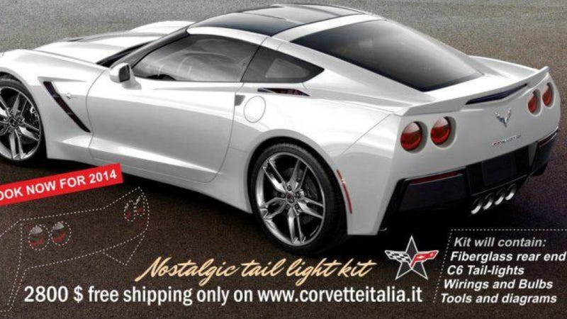Now The Corvette Faithful Can Stop Bitching About 'Camaro Taillights'