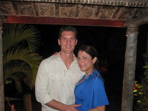 Bethenny's Belly Luxuriates on St. Bart's Honeymoon
