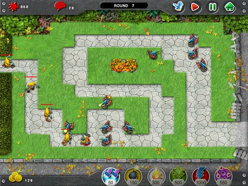 Tweet Defense iPad Game Lets You Slaughter Zombies With Tweets