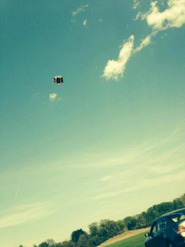 "Two Kids Hospitalized as ""Bounce House"" Gets Flung 50 Feet in the Air"