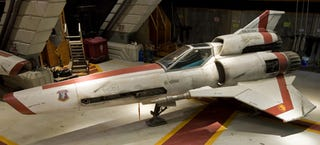 Viper MkII from Battlestar Going Up for Sale Along With 100s of Other Props