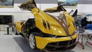 Pagani Will Build You A Huayra With A Manual Transmission