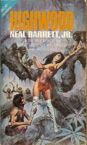Science fiction book covers that you may need protective gear to look at