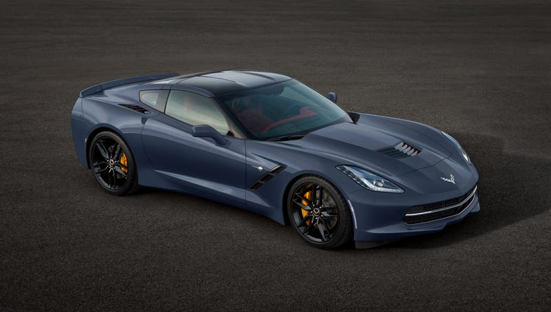 Here Is What The New Corvette Stingray Will Look Like In Any Color You Want