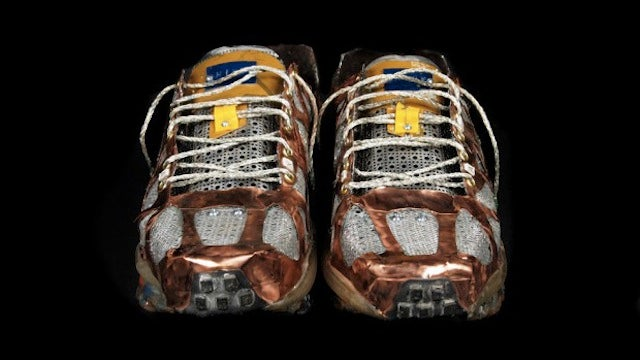 Beautiful Nikes Made From Computer Junk