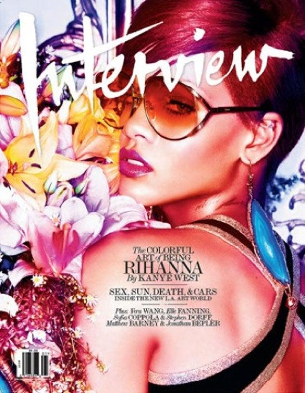 Kanye West Is a Dog Humping Rihanna's Leg