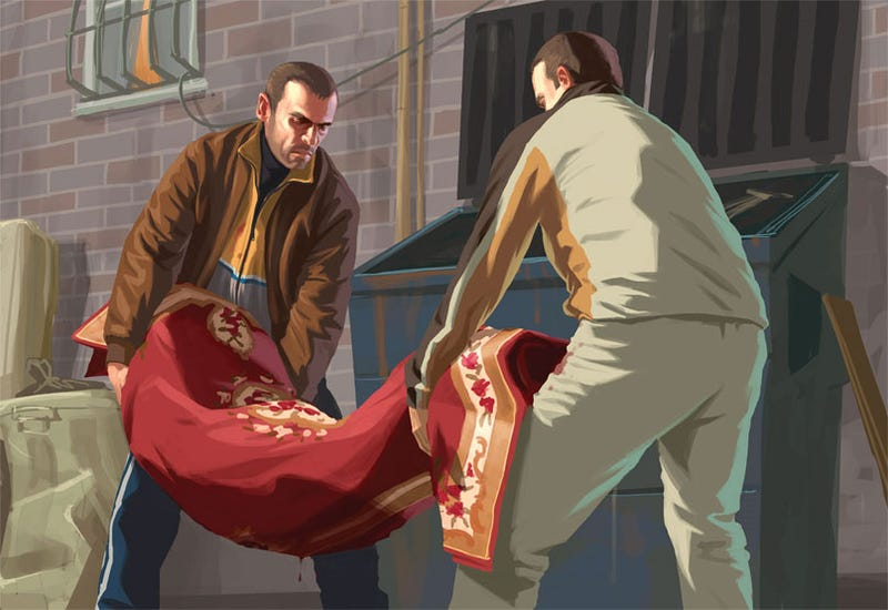 Grand Theft Auto IV On PC Is A Little Broken