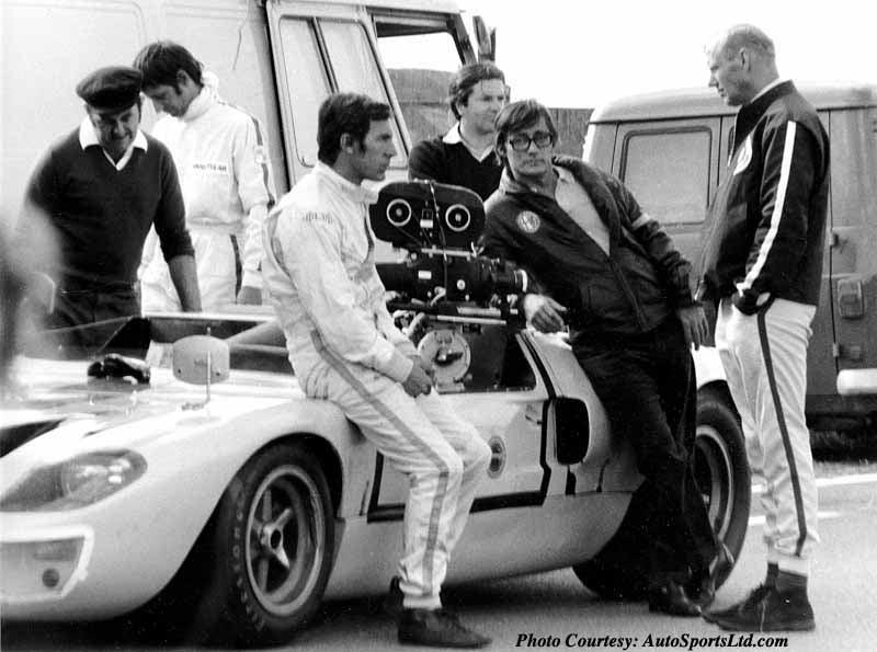 GT40 Camera Car In Movie Le Mans