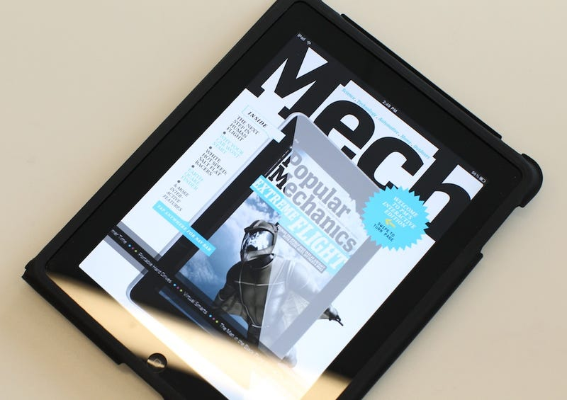 Popular Mechanics iPad App: The Future of Magazines, All Over Again