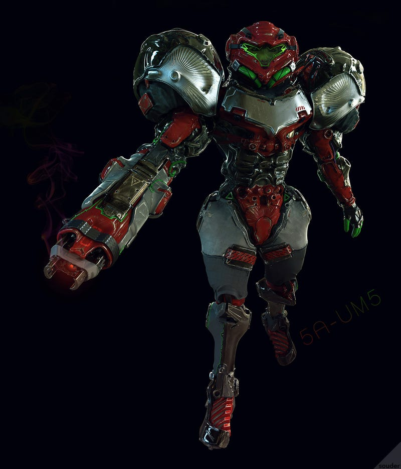 My, Samus, You Look Different