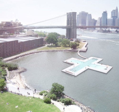 NYC Floating Pool Gallery