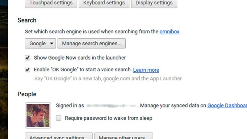 "Turn on ""OK Google"" in Chrome OS to start talking to your Chromebook"