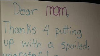 Smart Little Girl Wins Christmas With Hilarious Letter to Mom