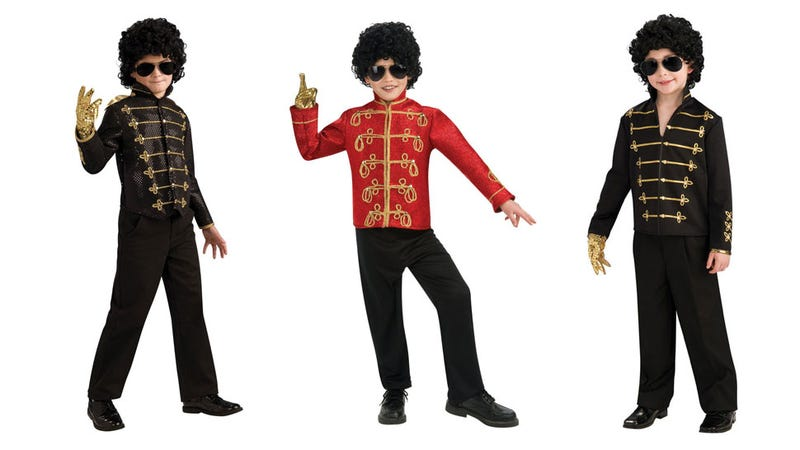 They Couldn't Find Any Black Kids to Model Michael Jackson Costumes on the Internet