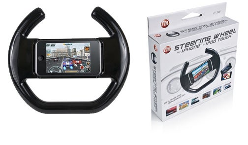 iPhone Steering Wheel: The 10th Best Thing To Driving