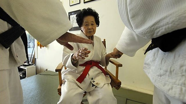 98-Year-Old Woman Reaches Judo's Highest Rank