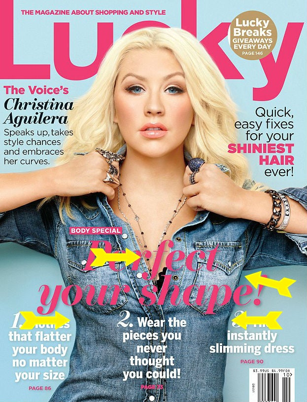 Christina Aguilera Gets a Breast Reduction from the Surgeons at Lucky
