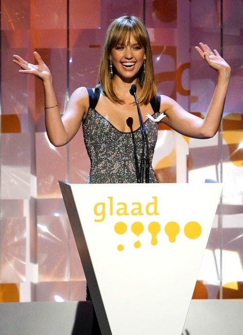 Jessica Alba Is Glaad To See You