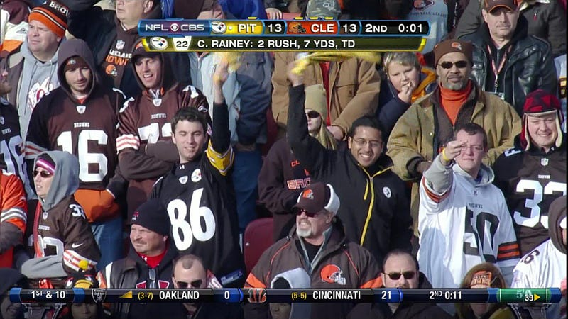 For Once, The Browns Really Were #1 Against The Steelers
