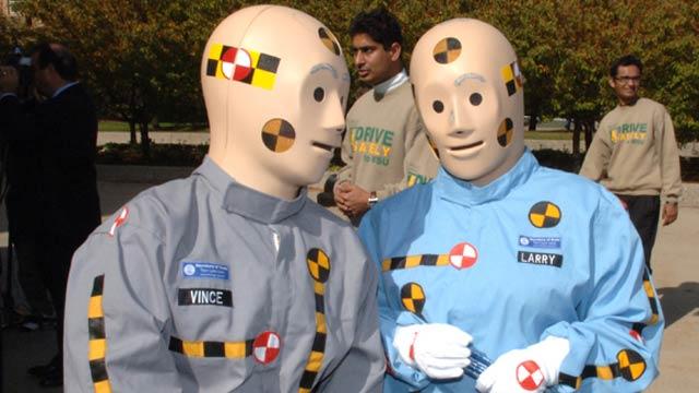 Male Crash Test Dummies Put the Ladies at Risk