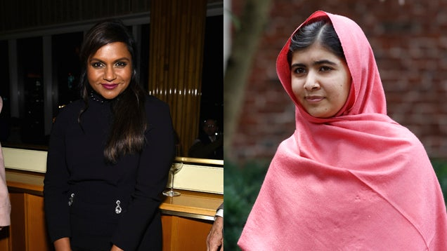 Old Drunk Dude Mistakes Mindy Kaling for Malala Yousafzai