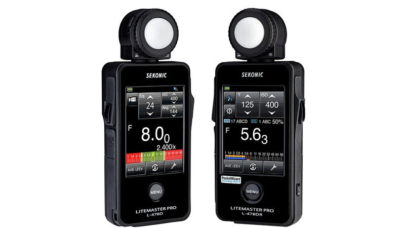 Touchscreen Light Meter Makes You Wonder Why They Didn't Make This an iPhone Accessory