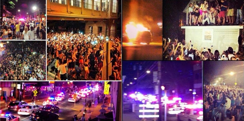 College Students Riot After 'I'm Shmacked' Party Turns Into 'Project X'