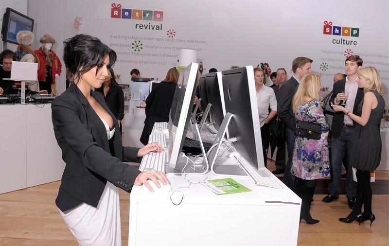 Kim Kardashian Donates Most of Her eBay Charity Proceeds to Herself