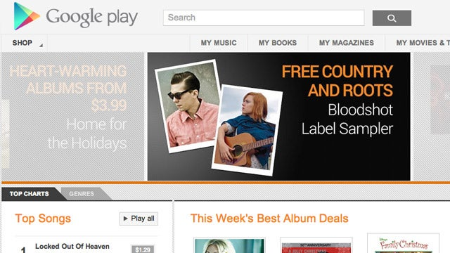 Google Music Will Have Scan and Match, Free for the First 20,000 Songs