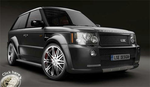 LSE Design To Premiere Range Rover Sport Coupe At SEMA