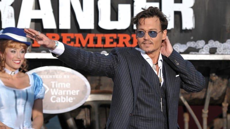 Johnny Depp, the Ageless Pose-Striker