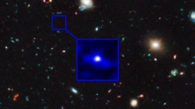The oldest galaxy ever spotted was born just 300 million years after the Big Bang