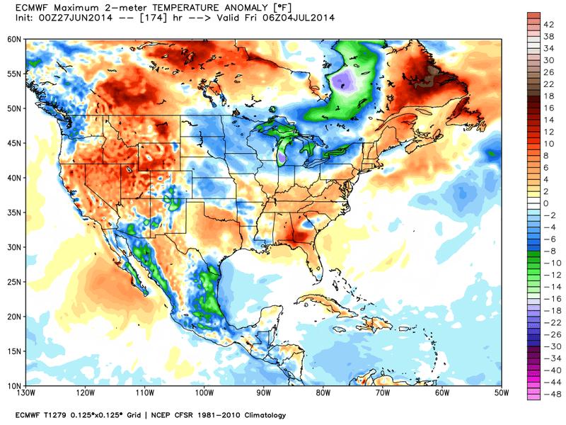 The Northern U.S. Will See SummerPolarVortexmageddon Next Week, Maybe