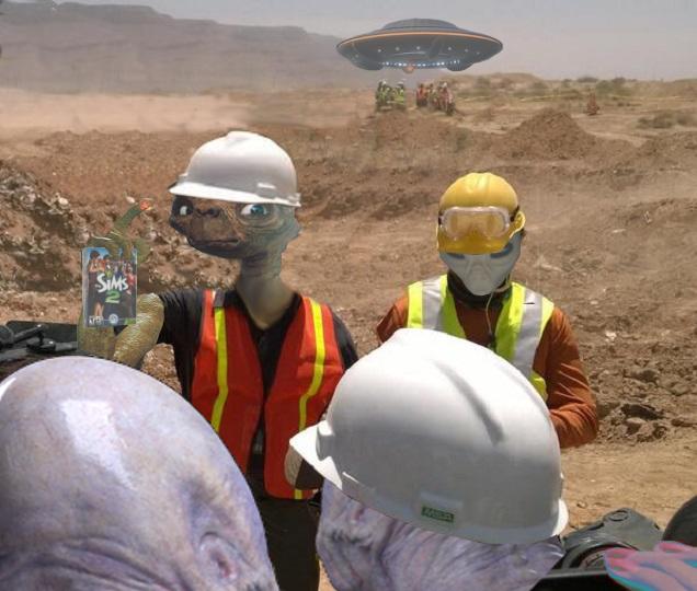 Kotaku 'Shop Contest: Excavated Extra-Terrestrials: The Winners!