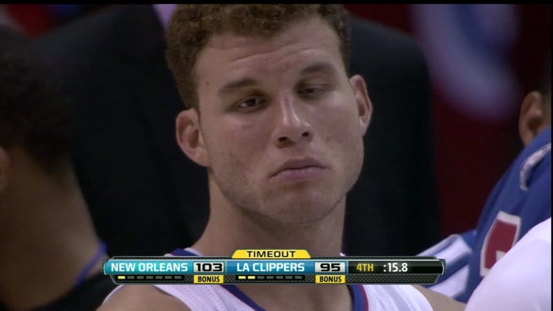 Blake Griffin And The Terrible, Horrible, No Good, Very Bad Day