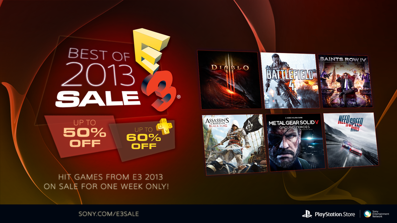 The Best Of E3 Sale Serves Up the Hits With Savings of 50%