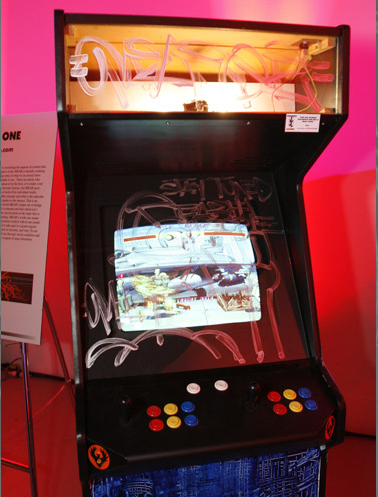 Custom Street Fighter IV Cabinets Going for Cheap