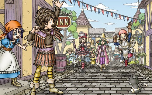 U.S. Dragon Quest IX Events Let You Play Tag With A Friend