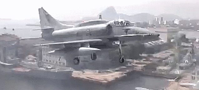 There's A Magical Place Where A-4 Skyhawks Still Fly Off Carriers?