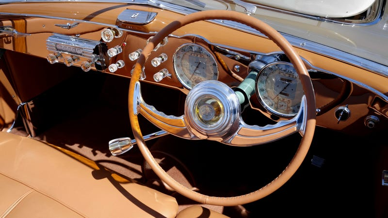 The Sensational Steering Wheels Of Pebble Beach